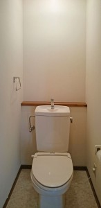 独立したトイレ